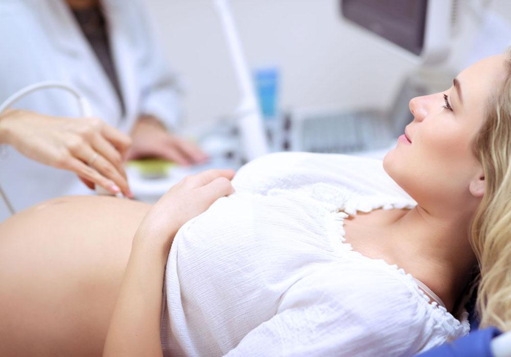 Untersuchung während der Schwangerschaft